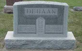 DEHAAN, JOHN - Sioux County, Iowa | JOHN DEHAAN