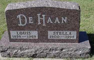DEHAAN, LOUIS - Sioux County, Iowa   LOUIS DEHAAN