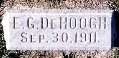 DEHOOGH, E. G. - Sioux County, Iowa   E. G. DEHOOGH
