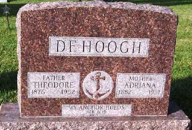DEHOOGH, THEODORE - Sioux County, Iowa | THEODORE DEHOOGH