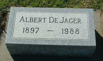 DEJAGER, ALBERT - Sioux County, Iowa | ALBERT DEJAGER