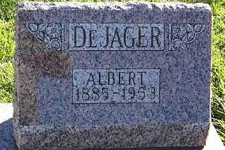 DEJAGER, ALBERT - Sioux County, Iowa   ALBERT DEJAGER