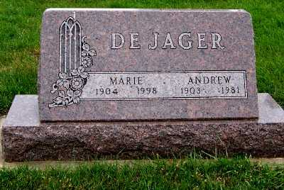 DEJAGER, MARIE - Sioux County, Iowa | MARIE DEJAGER