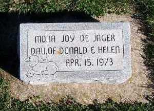 DEJAGER, MONA JOY - Sioux County, Iowa   MONA JOY DEJAGER