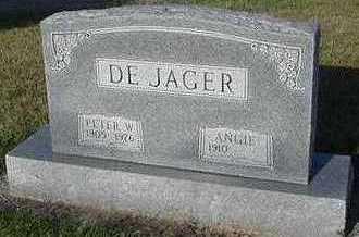 DEJAGER, PETER W. - Sioux County, Iowa | PETER W. DEJAGER