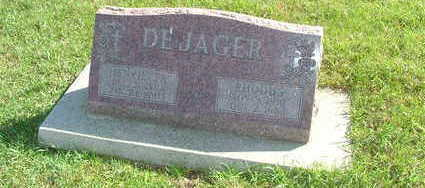 DEJAGER, HENRIETTA (MRS. RHODUS) - Sioux County, Iowa | HENRIETTA (MRS. RHODUS) DEJAGER