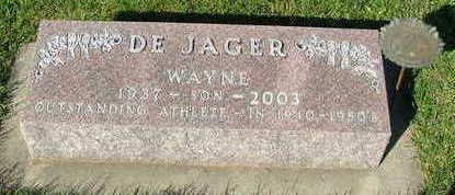 DEJAGER, WAYNE - Sioux County, Iowa | WAYNE DEJAGER