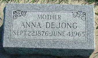 DEJONG, ANNA - Sioux County, Iowa | ANNA DEJONG