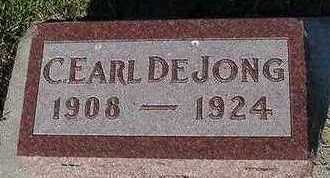 DEJONG, C. EARL - Sioux County, Iowa | C. EARL DEJONG