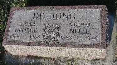 DEJONG, NELLIE (MRS. GEORGE) - Sioux County, Iowa | NELLIE (MRS. GEORGE) DEJONG