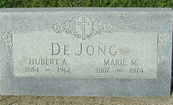 DEJONG, MARIE M. (MRS. HUBERT A.) - Sioux County, Iowa | MARIE M. (MRS. HUBERT A.) DEJONG