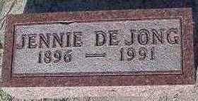 DEJONG, JENNIE - Sioux County, Iowa | JENNIE DEJONG