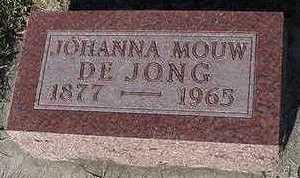 MOUW DEJONG, JOHANNA - Sioux County, Iowa | JOHANNA MOUW DEJONG