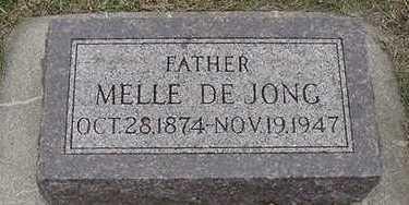 DEJONG, MELLE D.1947 - Sioux County, Iowa | MELLE D.1947 DEJONG