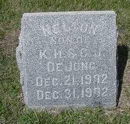 DEJONG, NELSON - Sioux County, Iowa | NELSON DEJONG