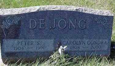 DEJONG, PETER S. - Sioux County, Iowa | PETER S. DEJONG