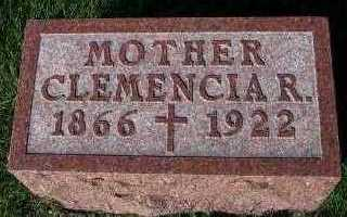 DEKING, CLEMENCIA R. - Sioux County, Iowa   CLEMENCIA R. DEKING