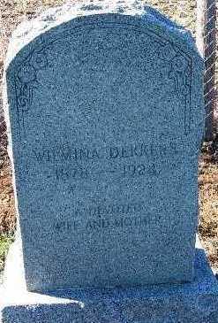 DEKKERS, WILMINA (1878-1924) - Sioux County, Iowa | WILMINA (1878-1924) DEKKERS