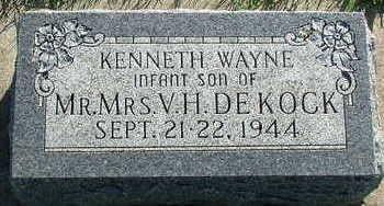 DEKOCK, KENNETH WAYNE - Sioux County, Iowa | KENNETH WAYNE DEKOCK