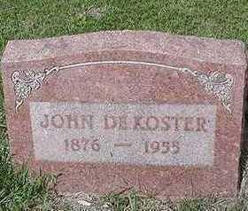 DEKOSTER, JOHN - Sioux County, Iowa   JOHN DEKOSTER