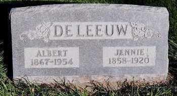 DELEEUW, JENNIE - Sioux County, Iowa | JENNIE DELEEUW