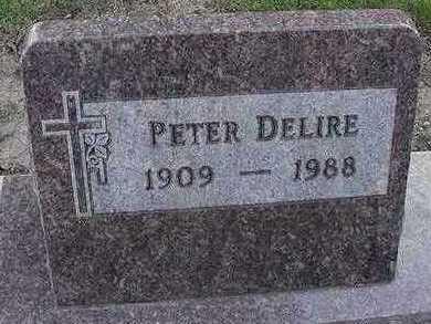 DELIRE, PETER - Sioux County, Iowa | PETER DELIRE