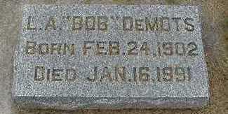 DEMOTS, L. A. 'BOB' - Sioux County, Iowa | L. A. 'BOB' DEMOTS