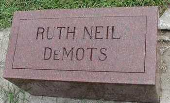 NEIL DEMOTS, RUTH - Sioux County, Iowa | RUTH NEIL DEMOTS
