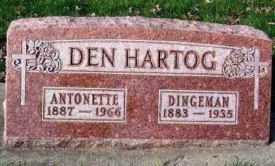 DENHARTOG, ANTONETTE - Sioux County, Iowa | ANTONETTE DENHARTOG