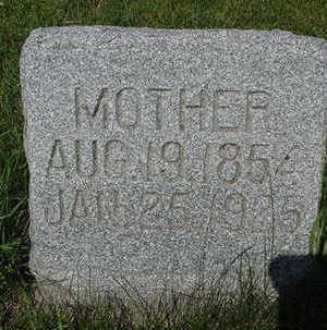 DENHERDER, MOTHER - Sioux County, Iowa   MOTHER DENHERDER