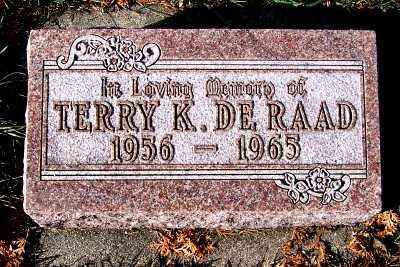 DERAAD, TERRY KEITH - Sioux County, Iowa | TERRY KEITH DERAAD