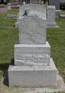 DEROO, JAMES JR. - Sioux County, Iowa   JAMES JR. DEROO
