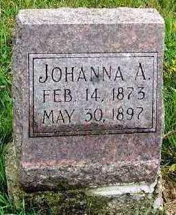 DESMET, JOHANNA A. - Sioux County, Iowa | JOHANNA A. DESMET
