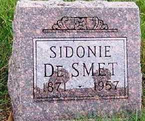 DESMET, SIDONIE - Sioux County, Iowa | SIDONIE DESMET
