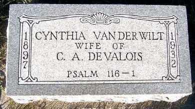 DEVALOIS, CYNTHIA (MRS. C.H.) - Sioux County, Iowa | CYNTHIA (MRS. C.H.) DEVALOIS