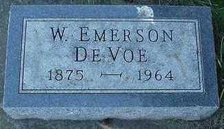DEVOE, W. EMERSON - Sioux County, Iowa | W. EMERSON DEVOE