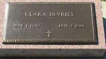 DEVRIES, CLARA - Sioux County, Iowa   CLARA DEVRIES