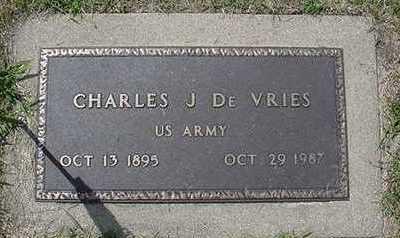 DEVRIES, CHARLES J. - Sioux County, Iowa | CHARLES J. DEVRIES