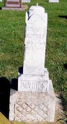DEVRIES, GERBEN O. - Sioux County, Iowa | GERBEN O. DEVRIES