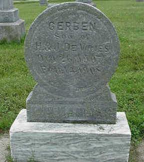DEVRIES, GERBEN - Sioux County, Iowa | GERBEN DEVRIES
