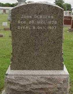 DEWEERD, JOHN - Sioux County, Iowa   JOHN DEWEERD
