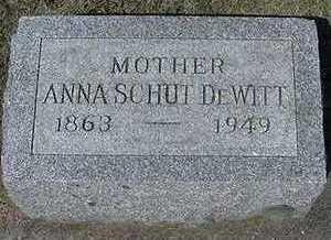 SCHUT DEWITT, ANNA - Sioux County, Iowa | ANNA SCHUT DEWITT