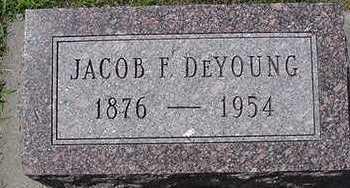DEYOUNG, JACOB F. - Sioux County, Iowa   JACOB F. DEYOUNG