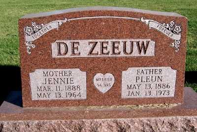 DEZEEUW, JENNIE - Sioux County, Iowa | JENNIE DEZEEUW