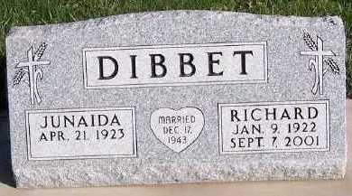 DIBBET, RICHARD - Sioux County, Iowa | RICHARD DIBBET