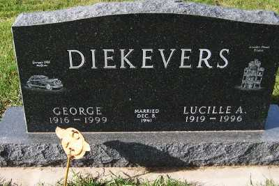DIEKEVERS, GEORGE - Sioux County, Iowa | GEORGE DIEKEVERS