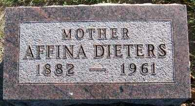 DIETERS, AFFINA - Sioux County, Iowa | AFFINA DIETERS