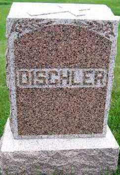 DISCHLER, HEADSTONE - Sioux County, Iowa   HEADSTONE DISCHLER