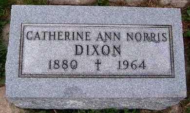 NORRIS DIXON, CATHERINE ANN - Sioux County, Iowa | CATHERINE ANN NORRIS DIXON