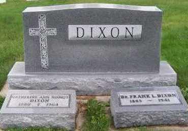 DIXON, HEADSTONE - Sioux County, Iowa | HEADSTONE DIXON
